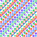 Jungle Shape Repeating Pattern