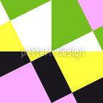 Резной квадрат Бесшовный дизайн векторных узоров