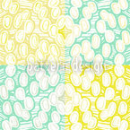 Rounded Elements Seamless Vector Pattern Design