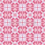 Orquídea Design de padrão vetorial sem costura