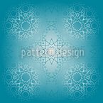 Frozen Lines Seamless Vector Pattern Design