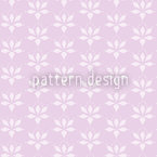 Blossom Drops Lavender Seamless Vector Pattern Design