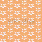 Blossom Drops Chamois Seamless Vector Pattern Design