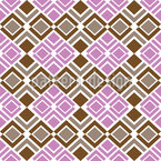 Quadrille Seamless Vector Pattern Design