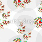 Love Is In The Air Seamless Vector Pattern Design