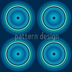 Fidelio Blue Seamless Vector Pattern Design
