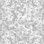 In And Out Grey Pattern Design
