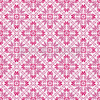 Vera Rosa Seamless Vector Pattern Design