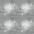 Skylines Seamless Vector Pattern Design