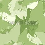Die Reise Der Grünen Schmetterlinge Musterdesign