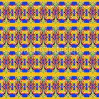 Tropicolori Design de padrão vetorial sem costura