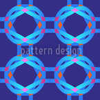 Cool Technicolor Seamless Vector Pattern Design