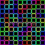 Tetricolor Seamless Vector Pattern Design