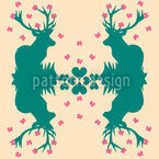 Wild For Butterflies Seamless Vector Pattern Design