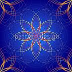 Sternenfunkeln Nahtloses Muster
