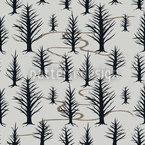 Im Winterwald Nahtloses Vektor Muster