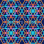 Hexagonia Azur Repeat Pattern