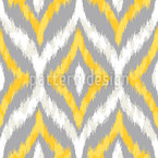 Animal Ikat Design Pattern