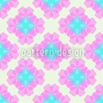 Pentagon Diamonds Seamless Vector Pattern Design