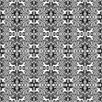 Rokoko Variation Seamless Vector Pattern Design