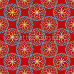 Geometric Orient Seamless Vector Pattern Design