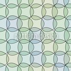 Triangles In Watergreen Seamless Vector Pattern Design