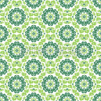 Flora Verde Seamless Vector Pattern Design