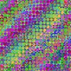 Rainbow In Colored Glass Seamless Vector Pattern Design