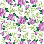 Rosen In Violettas Garten Muster Design