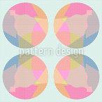 Gitterkreise Vektor Muster