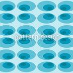Oval Im Eis Nahtloses Vektor Muster
