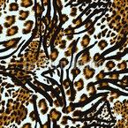 Leopard Jagd Zebra Muster Design