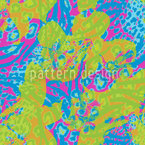 Colorful  Shadows Seamless Vector Pattern Design