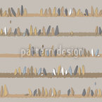 Stones In Store Seamless Vector Pattern Design
