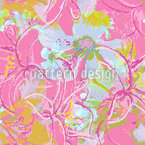 Liliana In Pink Seamless Vector Pattern Design