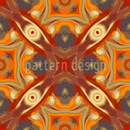 Oriental Eyes Design Pattern