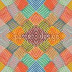 Patchwork  Multicolor Vektor Ornament