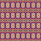 プシコデリカ王城 シームレスなベクトルパターン設計