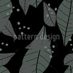 Rain Of Leaves Seamless Vector Pattern Design