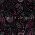 Mystical Paisley Seamless Vector Pattern Design