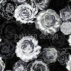 Wo Die Wilden Rosen Wachsen Nahtloses Vektormuster