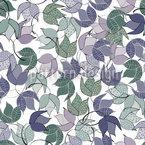 Tanzendes Buschwerk Nahtloses Muster