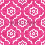 Pink Lady Marokko Nahtloses Vektormuster