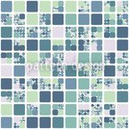 City Blocks In Spring Pattern Design