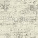 Industrielle Revolution Nahtloses Muster