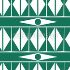 Ethno Triangel  Nahtloses Vektor Muster