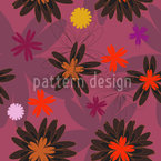 Flower Fantasy Seamless Vector Pattern Design