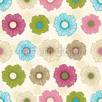 Floral Happiness Unlimited Seamless Vector Pattern Design