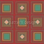 Inka Zum Quadrat Vektor Muster