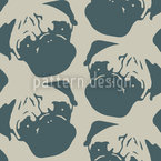 Puggy Pop Petrol Pattern Design